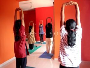 Standing Vertical Stretch